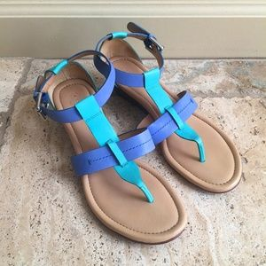 Coach Colorful Summer Sandals (A8580 Size 8B)